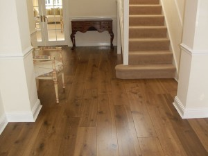 lightly fumed oak flooring