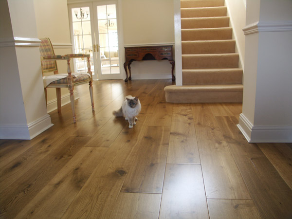 Lightly Fumed Oak