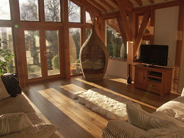 Satin Lacquered Oak Planks