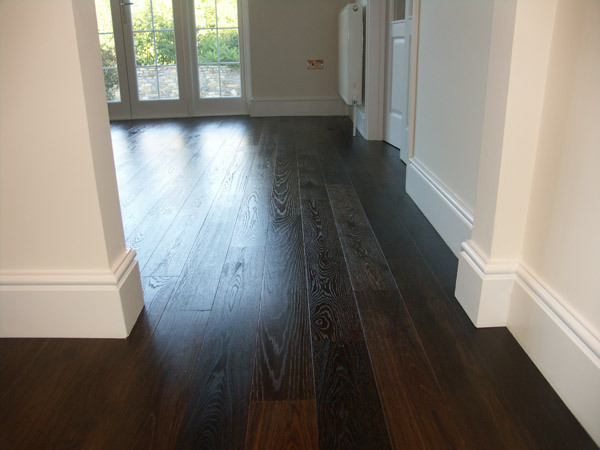 Dark Fumed Oak Hicraft Wooden Flooring Ltd