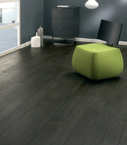 Dark Grey Oak Flooring