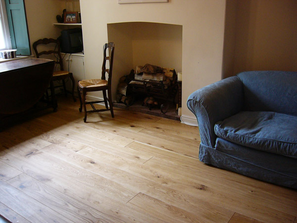 Oiled Oak Planks