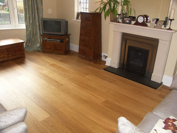 Matt Lacquered Oak