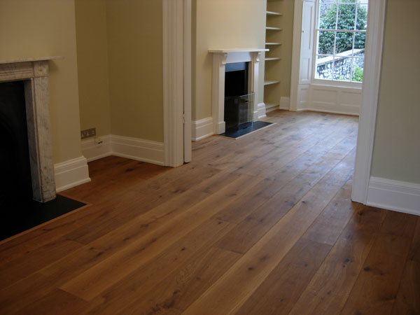 Wide Oiled Oak Hicraft