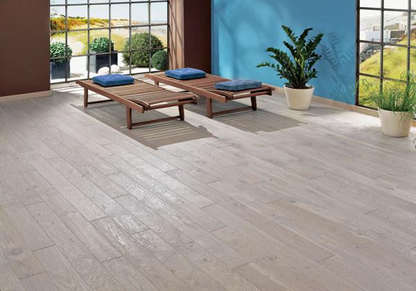 Pale Grey Oiled French Oak