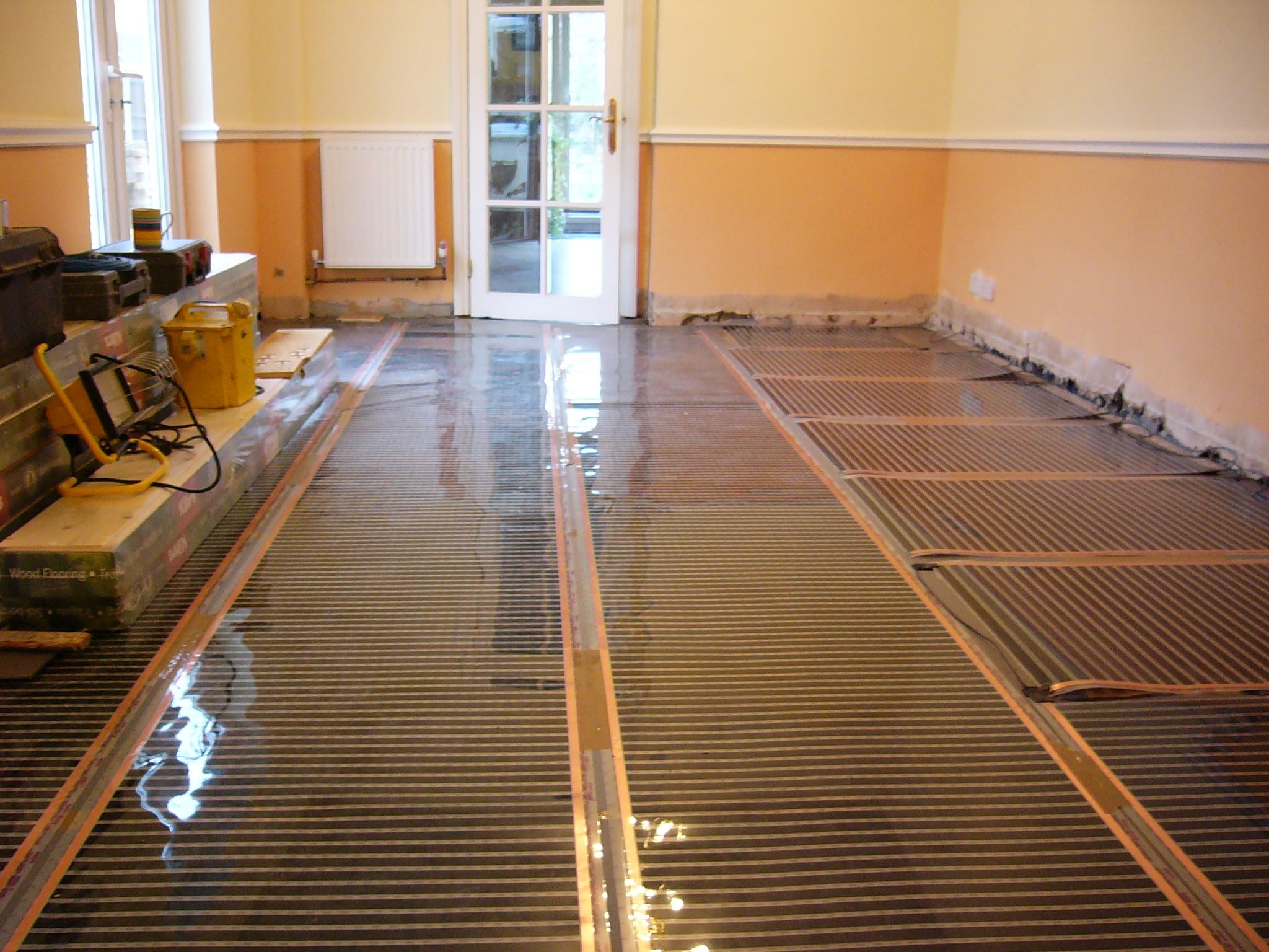 Underfloor Heating Wooden Floor Photos