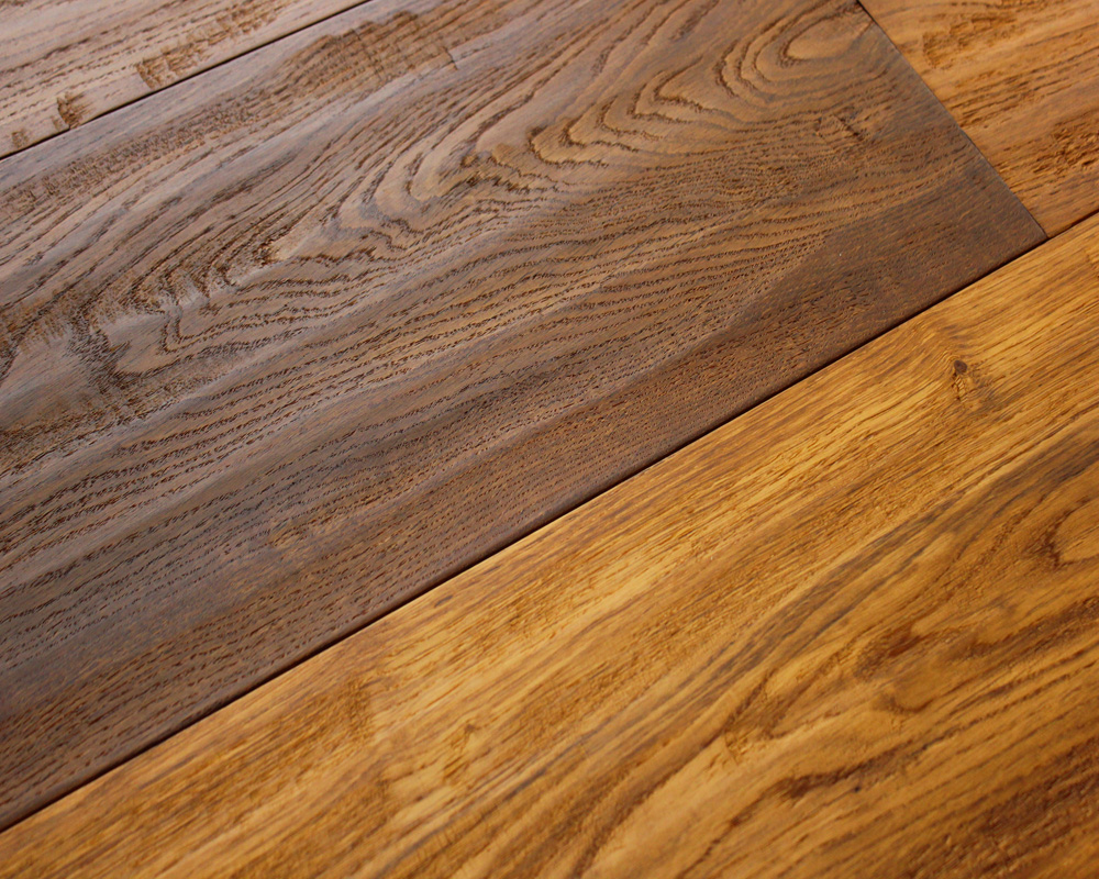 Hand Planed and Oiled Engineered Oak