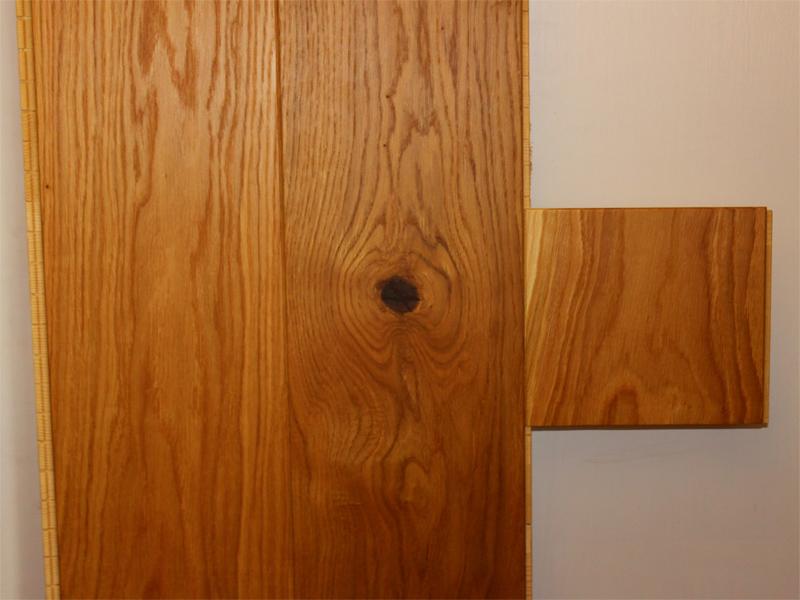 wooden flooring samples