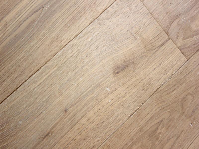 Subtly Distressed Pale Oak