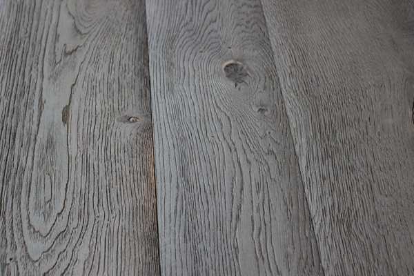 Beveled Dark Grey Planks