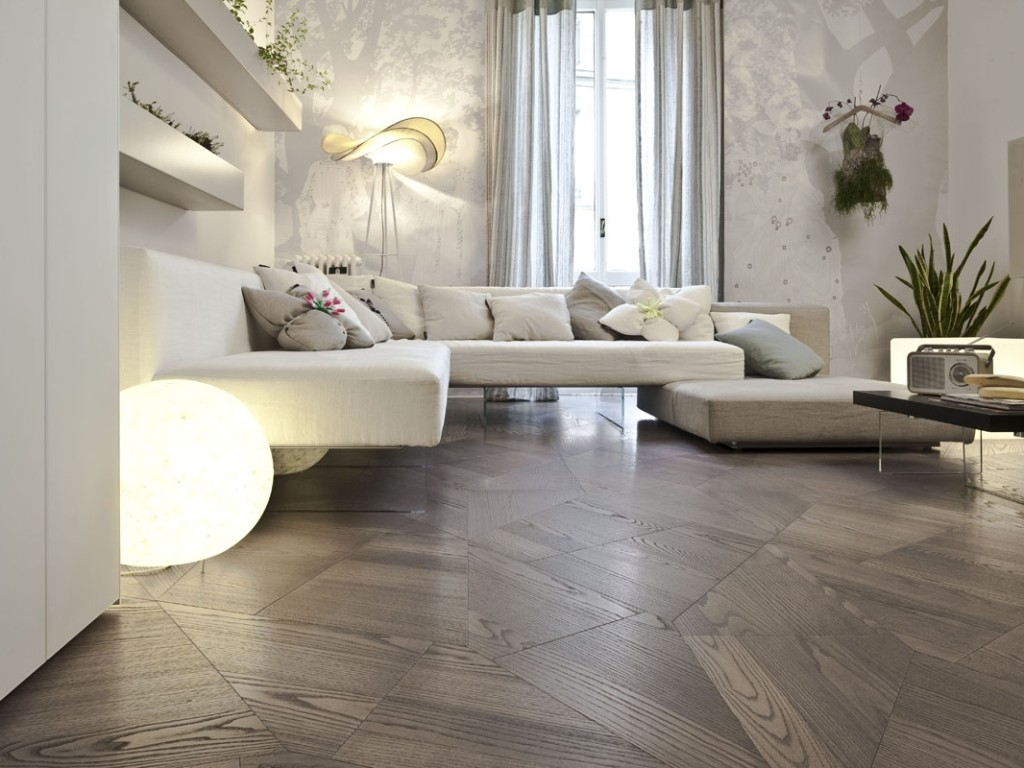 Geometric 'Slide' Flooring