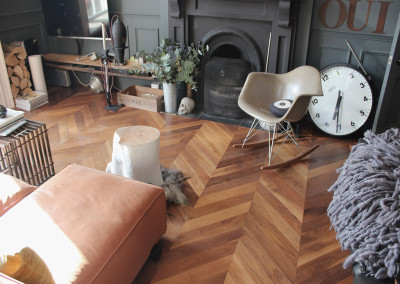 Walnut Engineered Chevron