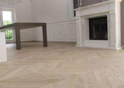 Engineered Sandblasted Chevron