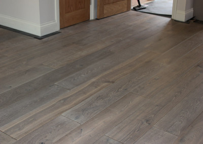 Double Smoked Grey Dutch Oak Flooring