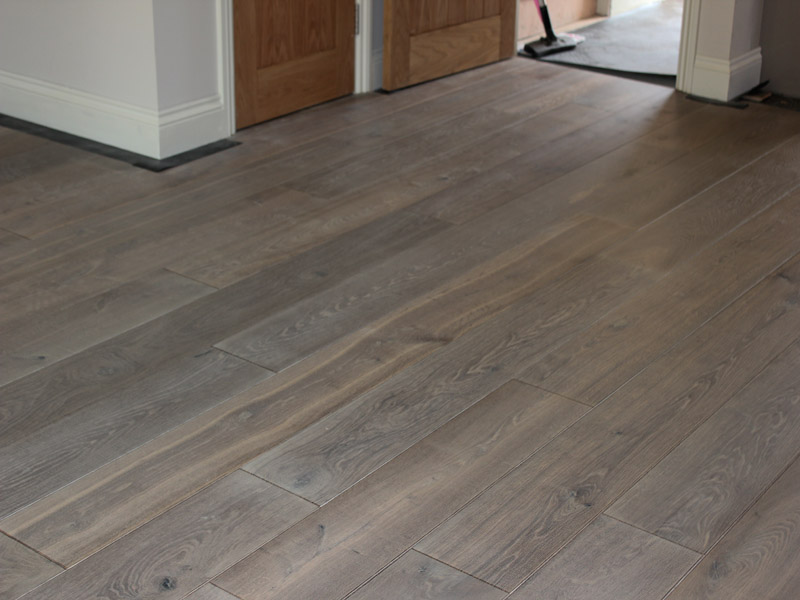 Double Smoked Grey Dutch Oak Flooring Hicraft Wooden