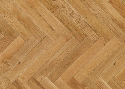 Natural Oak Engineered Herringbone