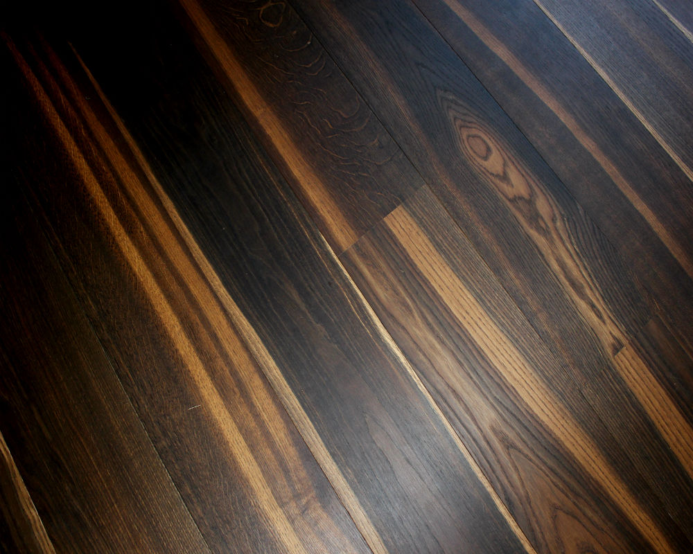 Dark Smoked Rustic Oiled Oak