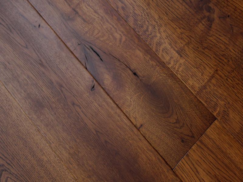 Oak Flooring for a London Interior Designer