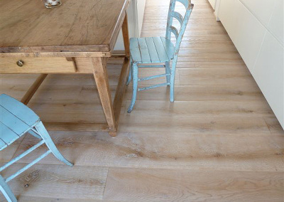 Bespoke Textured White Oak Flooring
