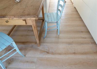 Bespoke Textured White Oak Flooring