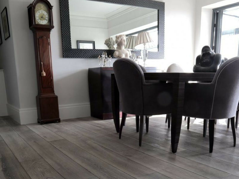 Weathered White Oak Flooring