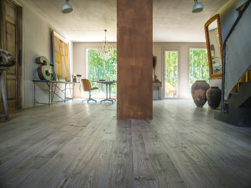 grey oak floorboards