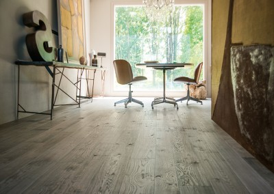 Grey Oiled Oak Floor