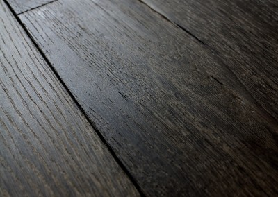 Dark earthy toned engineered oak