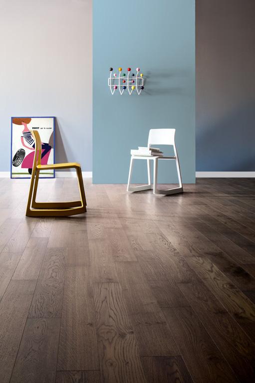 Modern Italian Grey Listone Giordano Oak Floor