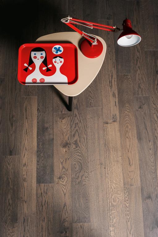 Engineered Contemporary Italian Grey Oak Plank Flooring