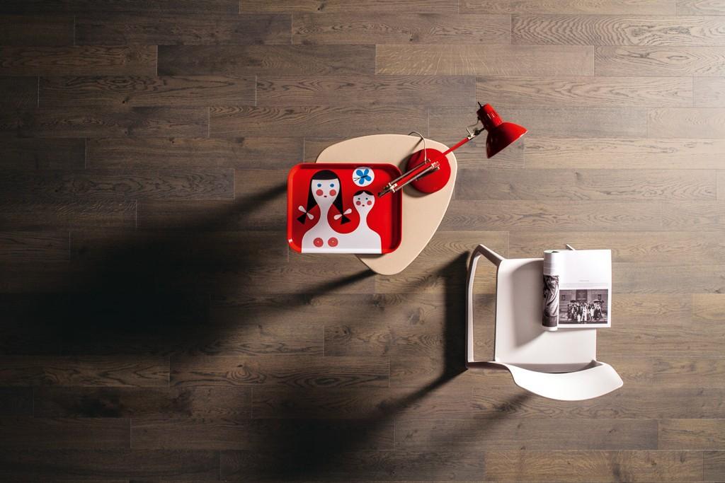 Grey Oak Engineered Italian Plank Wooden Flooring