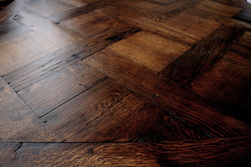 Rustic Parquet Solid Oak Versailles Panels