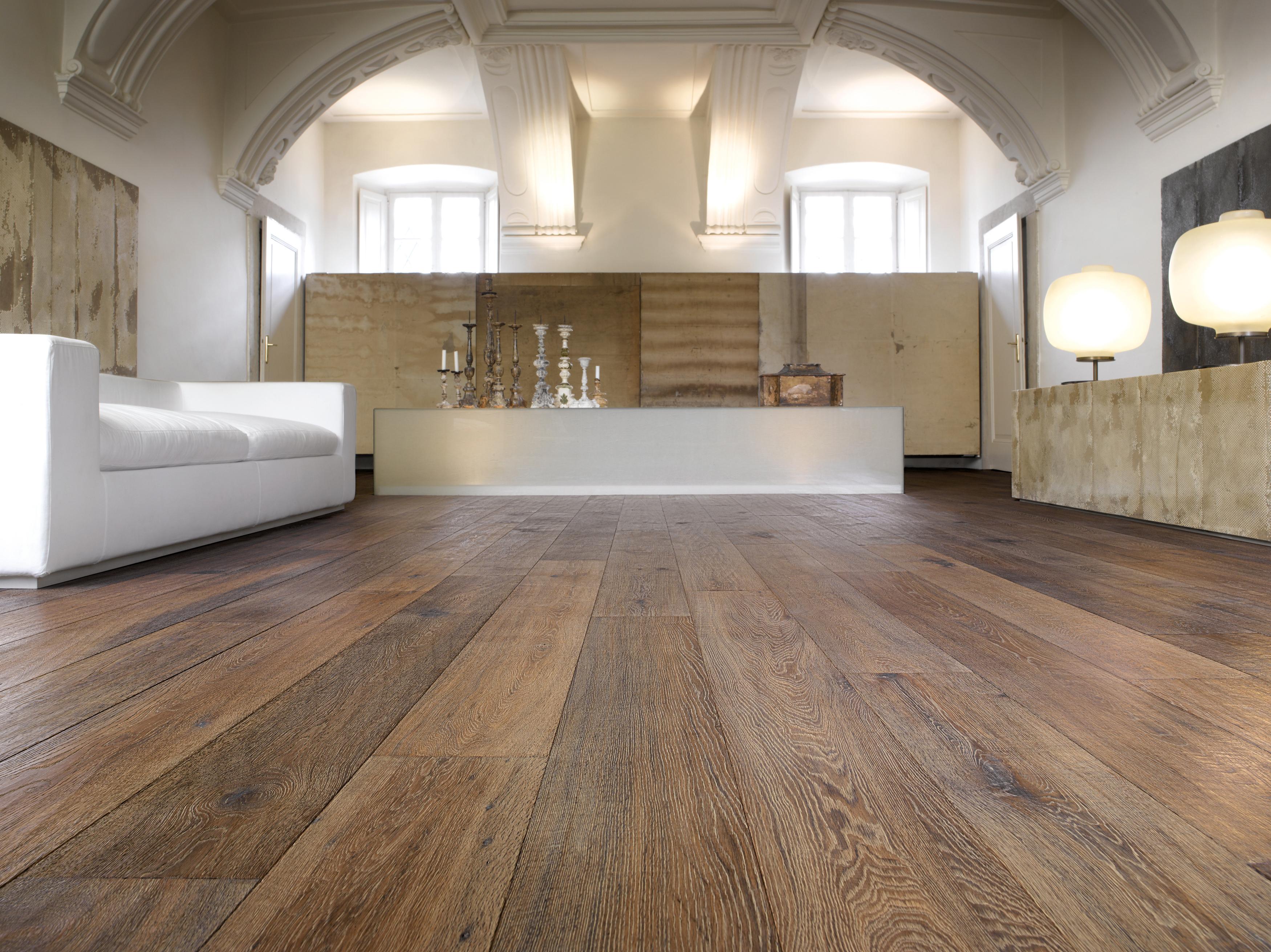 Wide Rustic Distressed Italian Engineered Oak Flooring
