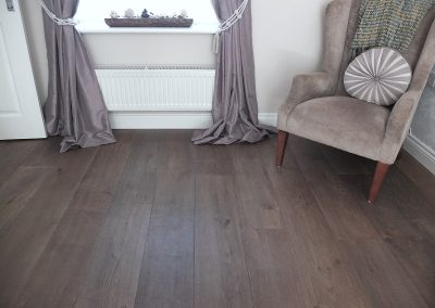 Lightly Brushed Grey Brown Oak
