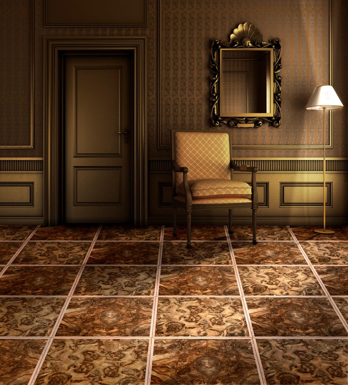 Engineered Walnut Burl Panel Wooden Flooring