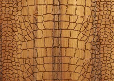Brown, Crocodile Textured Engineered Oak