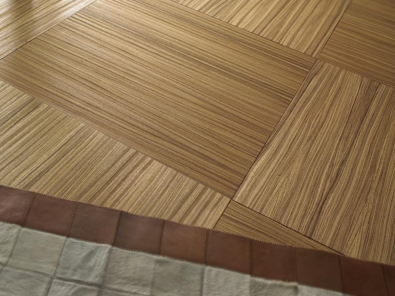Engineered Bespoke Custom Square Wood Parquet Floor