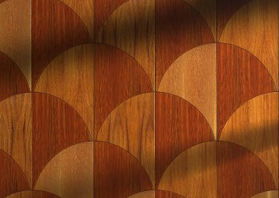 Customisable Crescent Parquet