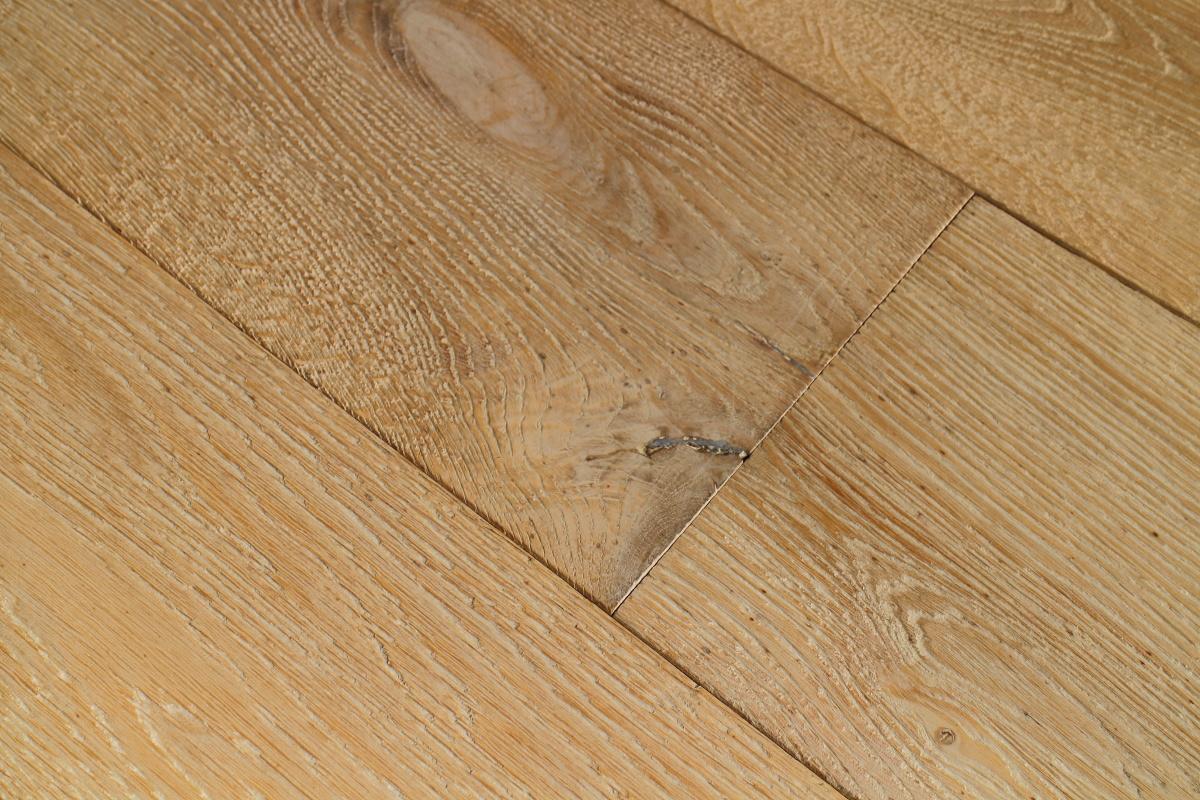 Oak Driftwood Oiled Textured Wooden Flooring