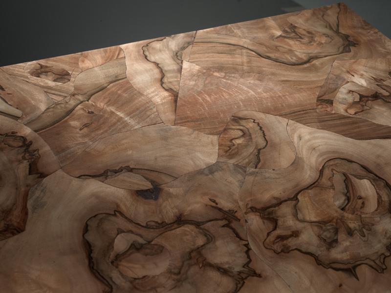 Oiled Engineered Luxury Walnut Burl Wooden Floor