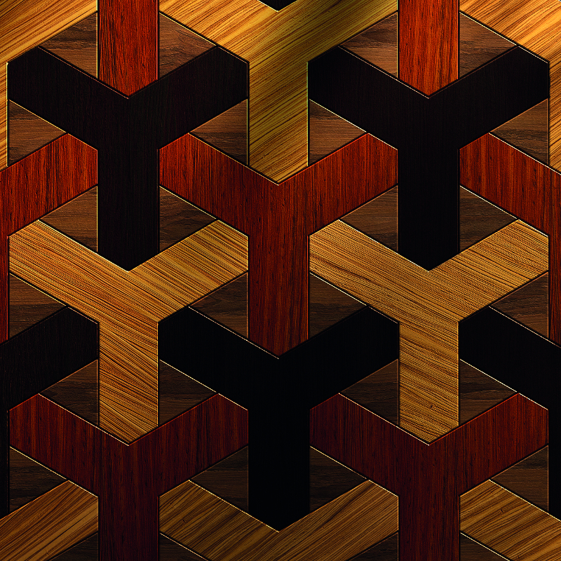 Geometric Bespoke Exotic Parquet Flooring