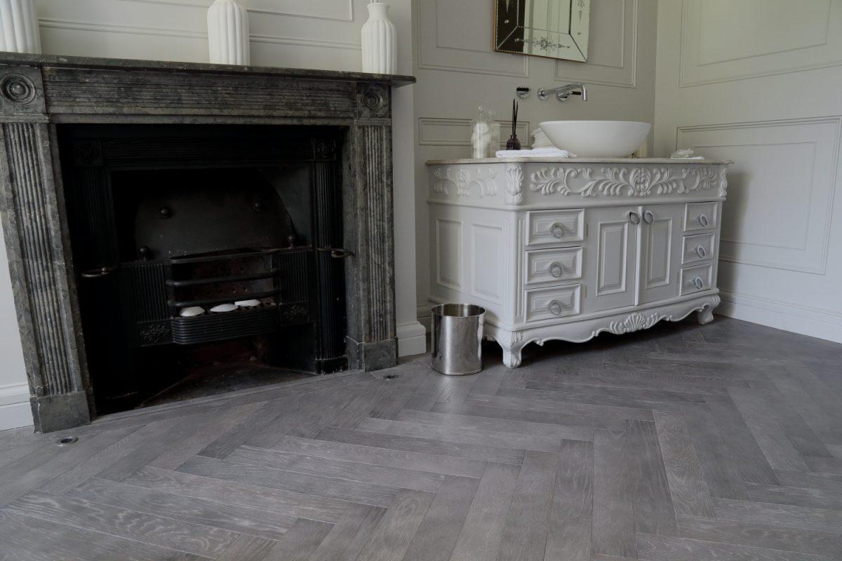 Hicraft Herrinbone Wooden Flooring