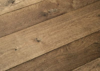 Aged Amber distressed wooden flooring