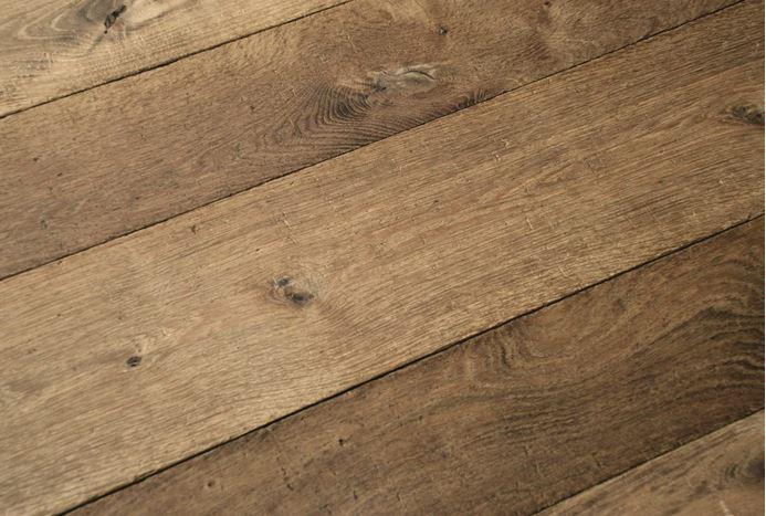 Golden Brown Distressed Aged Dented Oak Flooring
