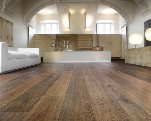 Wide Oak Floorboards - Italian Engineered Oak