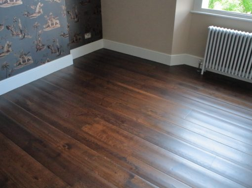 Rippled Jacobean Oak