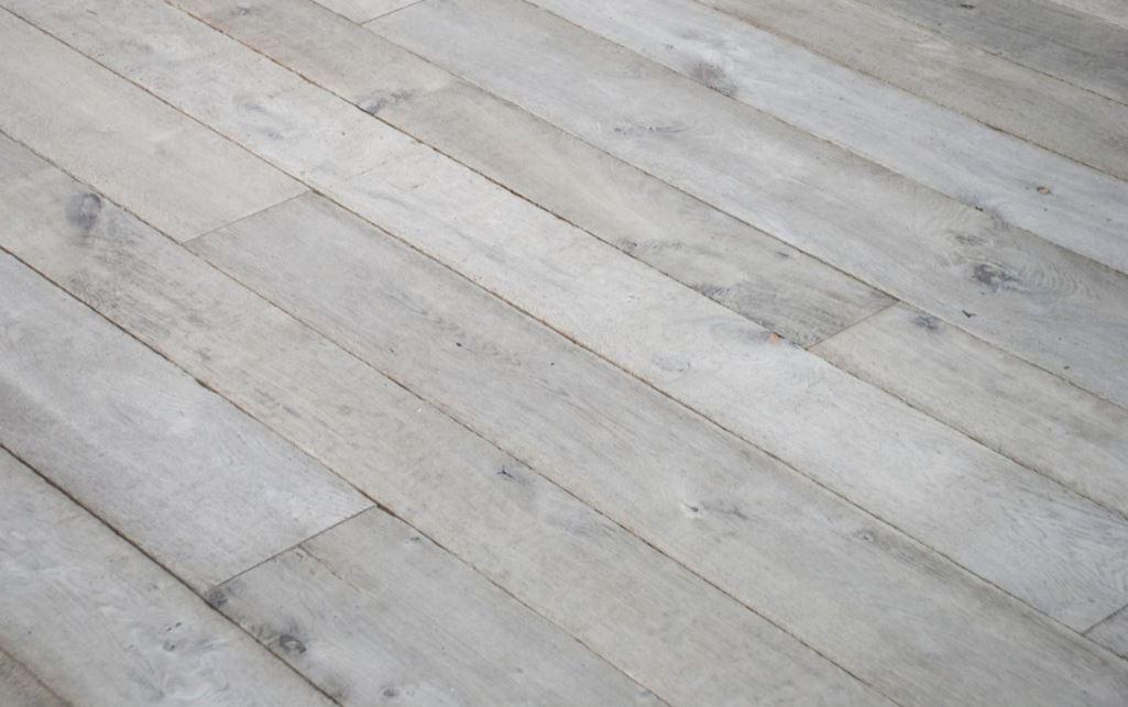 Whitewashed Distressed Traditional Oak Flooring