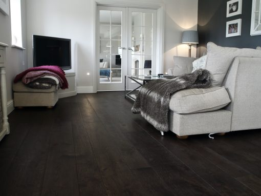 Dark Engineered Oak Flooring