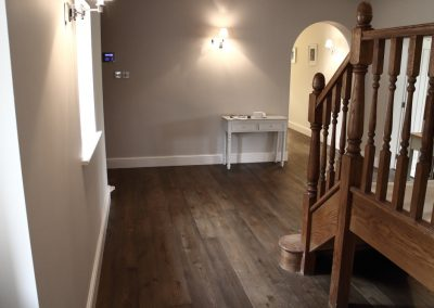 Warm Charcoal Grey Oak flooring