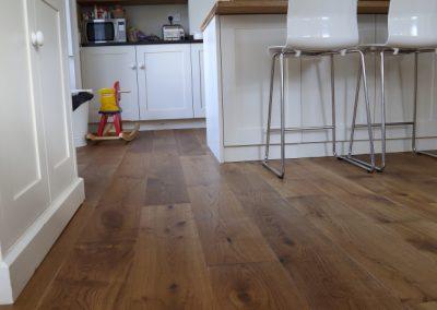 Lightly Smoked Oak Flooring